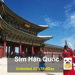 Sim Du lịch Hàn